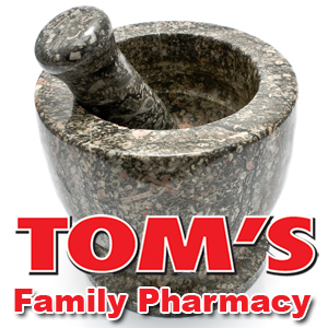The pharmacy at Tom's Family Market