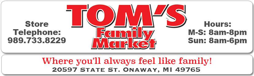 Welcome to Tom's Family Market